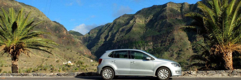 Mietwagen im Valle Gran Rey (La Gomera)